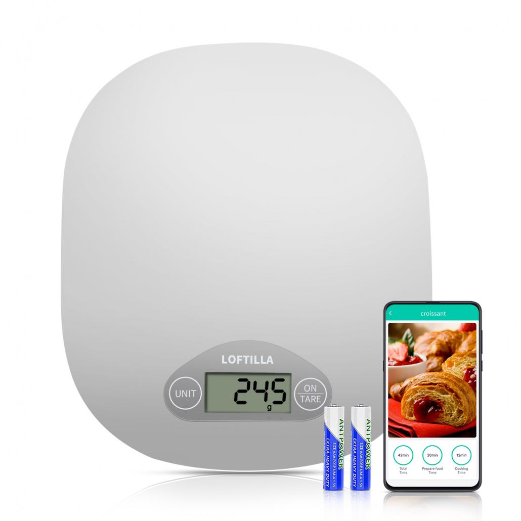 Loftilla Smart Kitchen Scale Model CK10B