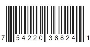 Food item bar code example